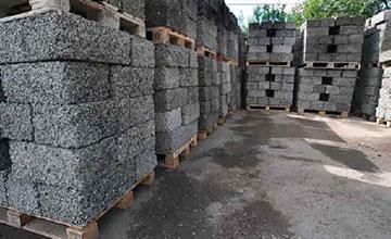 Арболитовые блоки в пеллетах