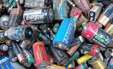 Куча старых батареек