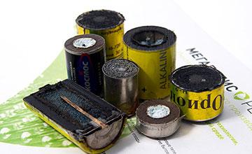 Батарейка внутри