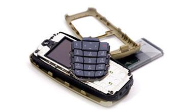 Разобранный мобильник