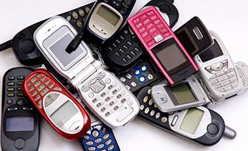 Утилизация сотовых телефонов