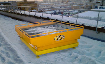 Малогабаритная снегоплавильная установка