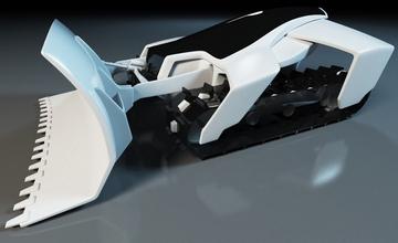 Робот-снегоуборщик