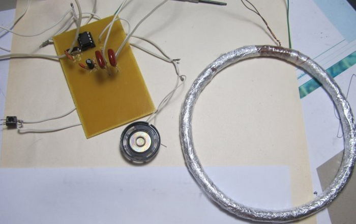Изготовление металлоискателя