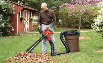 Инструмент для сбора листьев